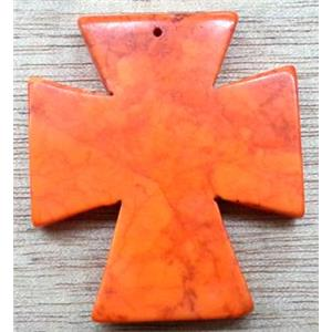 Cross Turquoise Pendant, stability