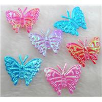 machine goffer Fabric Butterfly, Mix AB Color