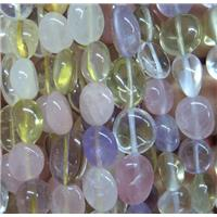 mix gemstone chip bead, freeform, approx 6-10mm