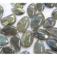 Labradorite cabochon, mixed shaped, approx 15-35mm