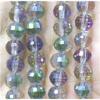 chinese crystal bead, faceted round, approx 10mm dia, 70pcs per st