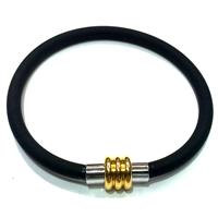 Jewellry Making necklace and bracelet cord, rubber, black
